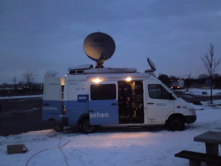 Ü-Wagen des WDR