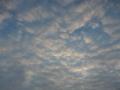 Die Wolken reißen immer weiter auf, Parkplatz Rur-Scholle, 09:10 Uhr